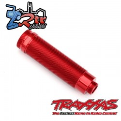 Cuerpo de amortiguador 64mm Aluminio Rojo Traxxas TRA8452R