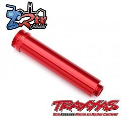 Cuerpo de amortiguador 77mm Aluminio rojos sin roscar Traxxas TRA8462R