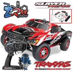 Traxxas Slayer 4wd Short Course Nitro TSM Rojo RTR