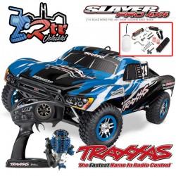 Traxxas Slayer 4wd Short Course Nitro TSM Azul RTR
