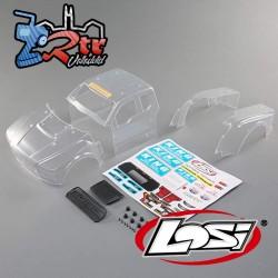 Conjunto de carrocería Ford Raptor transparente Baja Rey 1/10 Losi LOS330005