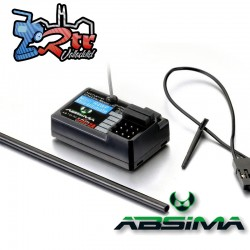 Receptor Absima 4 Canales R4WP-Mini Ultimate 2.4GHz (CR4T Ultimate)