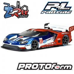 Carrocería transparente 190mm Ford GT Lightweight PR1550-25 Protoform