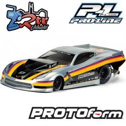 Carrocería transparente Chevrolet Corvette C7 Pro-Mod PR1571-40 Protoform
