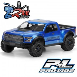 Cuerpo Transparente 2017 Ford F-150 Raptor True Scale Proline PR3461-00