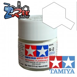 X-2 Pintura Acrilica Blanco Brillante 10Ml Tamiya