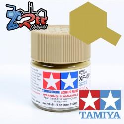 XF-60 Pintura Amarillo Oscuro Mate 10Ml Tamiya