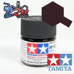 XF-69 Pintura Acrílica Negro Otan Mate 10Ml Tamiya