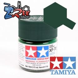 XF-70 Pintura Acrílica Verde Oscuro 2 Mate 10Ml Tamiya