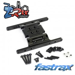 Placa central del chasis  Aluminio Element Enduro FTEL006BK Fastrax