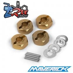 Juegos de cubos de rueda hexagonales 12mm Maverick MV150184