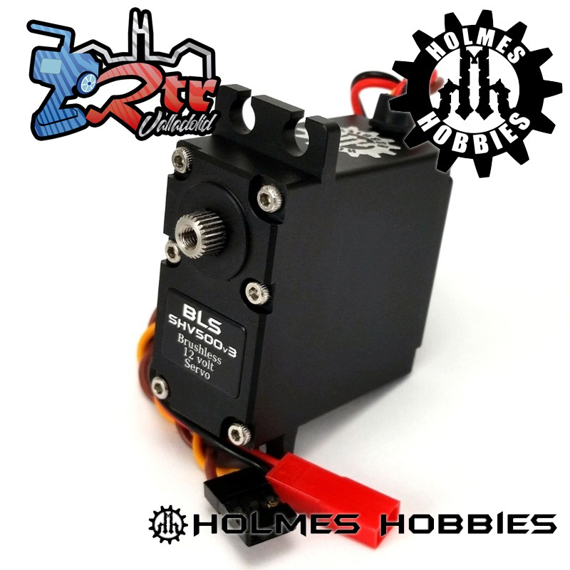 Holmes Hobbies Servo Brushless BLS SHV500V3 48Kg 0.08Seg 12Volt