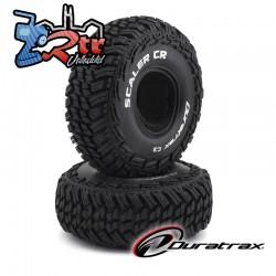 """Ruedas Duratrax 1.9"""" Crawler 1/10  Scaler CR C3 DTXC4016"""