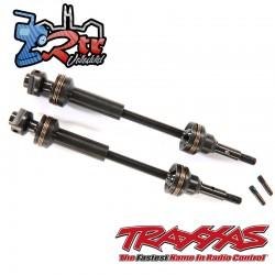 Ejes de transmisión, delantero, estriado de acero Traxxas TRA9051X