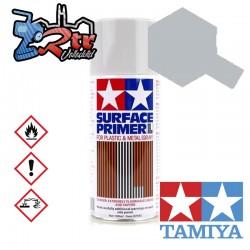 Spray Imprimación de superficie Gris L  Plásticos o Metal Tamiya