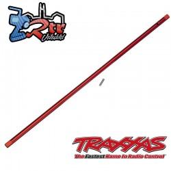 Eje de Transmisión central con pin Aluminio Rojo Traxxas TRA8355R