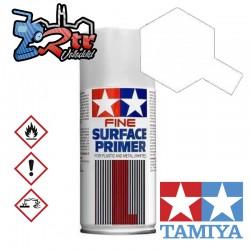 Spray Imprimación de superficie Blanco L Plásticos o Metal Tamiya