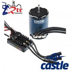 Castle Manba Micro X Crawler Edition Waterproft 2280Kv Sensores Combo