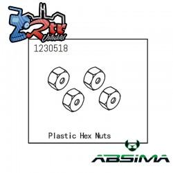 Tuercas Hexagonales Absima 1230518