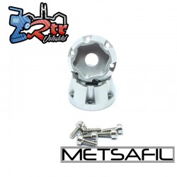 Cubos de rueda Hexagonales 12mm con Pórticos Para llantas Metsafil MT5002