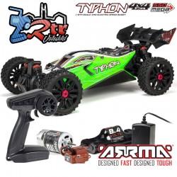Arrma Typhon 1/8 Buggy 4wd Mega Escobillas RTR