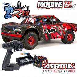 Arrma Mojave SC Brushless Rojo BLX185 6s 1/7 Rojo V2