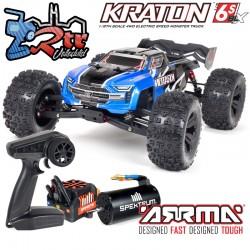 Arrma Kraton V5 Truggy Truck Brushless Azul BLX 6s 1/8