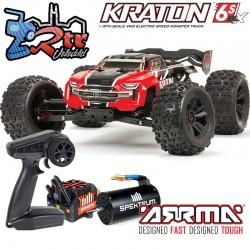 Arrma Kraton V5 Truggy Truck Brushless Rojo BLX 6s 1/8