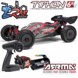 Arrma Typhon 1/8  Buggy Brushless BLX 6s RTR V5 4wd