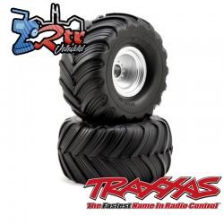 Ruedas Traxxas Groove de doble perfil 1/10 12mm TRA3665