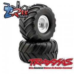 Ruedas Traxxas Groove de doble perfil 1/10 12mm TRA3663