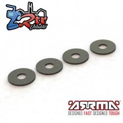 Arandelas 3.4x10x0.5mm 6S & Unidades Arrma AR709051