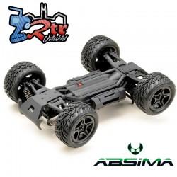 Absima Truggy Power Rojo 1/14 4Wd RTR Escobillas