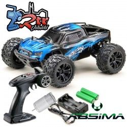 Absima Racing Monster Azul 1/14 4Wd RTR Escobillas