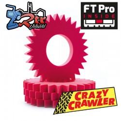 LaserFoam 1.9 R120 FT Pro Spur-Master Crawler CYC101