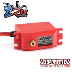 ADS-15M V2 15kg Servo impermeable, rojo Arrma AR390139