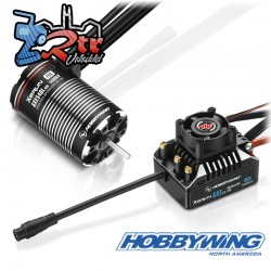 Hobbywing Xerun Axe540L FOC Combo for Rock Crawler R2-1400kV