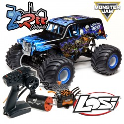 LOSI LMT 1/8 Monster Truck BLX 3S 4WD RTR Son Uva Digger