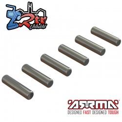 Pines Pasadores 3.5x14.8mm 6 Piezas Arrma ARA713031