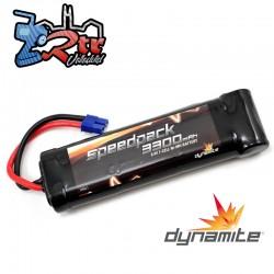 Batería Nimh 3300mAh 7 Celdas 8.4V Dynamite conector Ec3