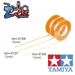 Cinta de enmascarar Tamiya 87207 2mm / 18 Metros
