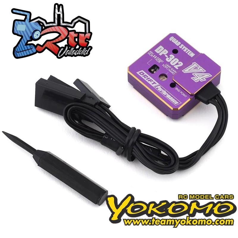 Giroscopio de dirección con punto final Yokomo DPP-302V4P Giro