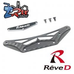 Juego de parachoques de carbono Reve D para coche RWD Drift