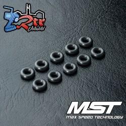 Junta tórica MST P3 negra (10 piezas) MST130023