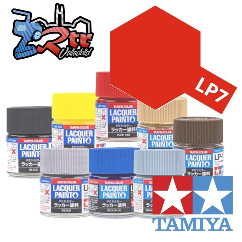 LP-7 Pintura Laca Rojo Puro Brillante 10Ml Tamiya