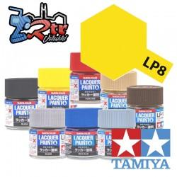 LP-8 Pintura Laca Amarillo Puro Brillante 10Ml Tamiya