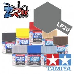 LP-20 Pintura Laca Metal de pistola Suave 10Ml Tamiya