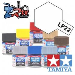 LP-22 Pintura Laca Base Plana 10Ml Tamiya