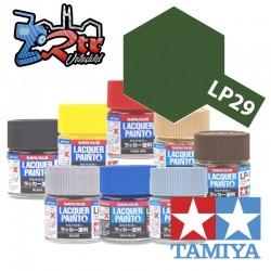 LP-29 Pintura Laca Verde Oliva 2 Plano 10Ml Tamiya