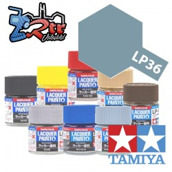 LP-36 Pintura Laca Gris Oscuro Fantasma Plano 10Ml Tamiya
